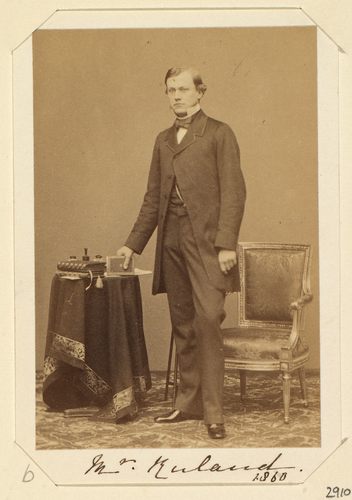 Mr Ruland, 1860. [Royal Household Portraits. Volume 57. ]