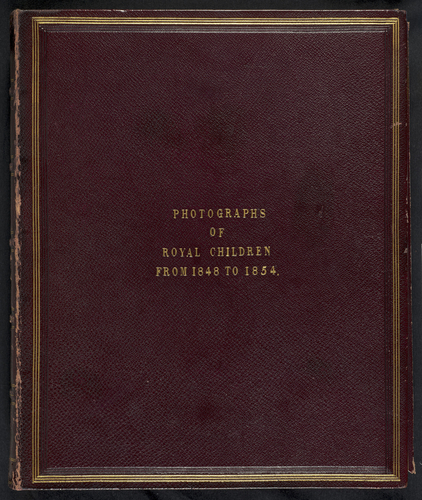 Portraits of Royal Children, Vol. 1, from 1848 to 1854