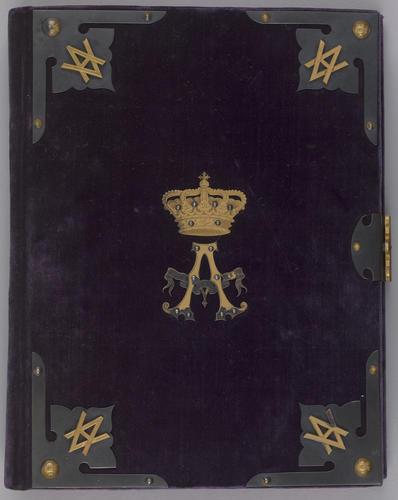 Album of photographs of Prince Albert