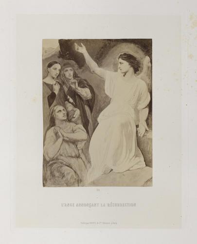 'L'Ange annoncant la Resurrection'