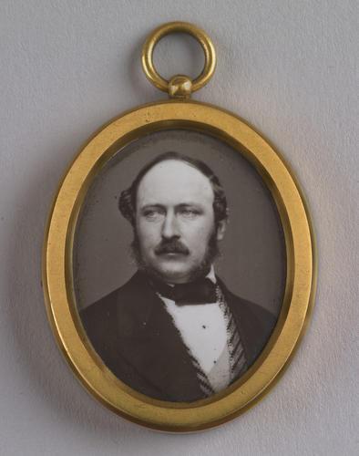 Pendant with enamel of Prince Albert (1819-61)