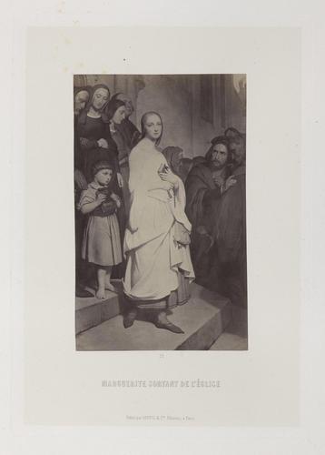 'Marguerite sortant de l'Eglise'