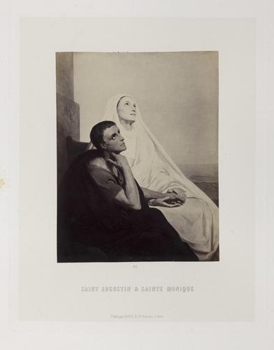 'Saint Augustin et sainte Monique'