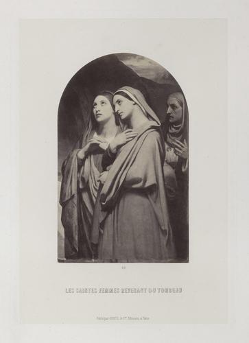 'Les Saintes Femmes revenant du Tombeau'