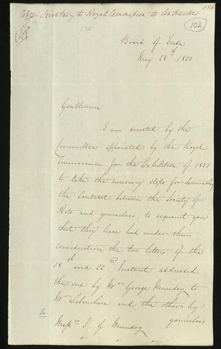 28 May 1850. Edgar Bowring to Messrs Munday