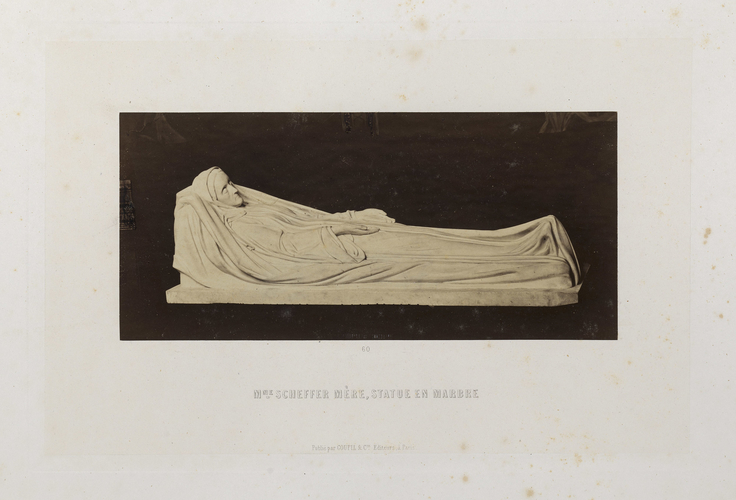 'Madame Scheffer Mere (statue en marbre)'