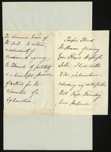 23 May 1850. Robert Peel to Prince Albert