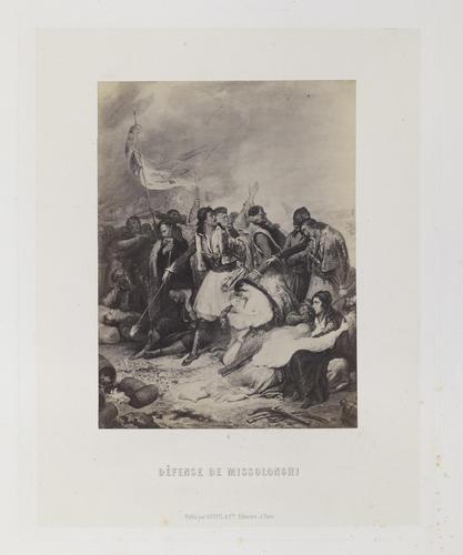 'Defense de Missolonghi'