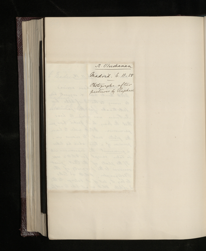 Notes of Becker's response to the letter from the British Minister in Madrid acknowledging receipt of the photograph of the Duke of Alba's picture, and stating that the Prince wishes to acquire the