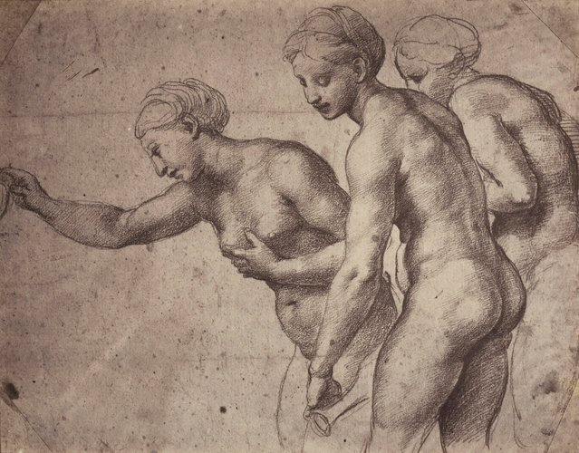 A study for the Three Graces