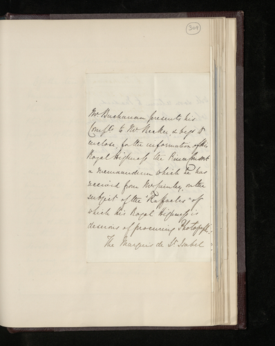 Letter from the British Minister in Madrid to Dr Ernst Becker enclosing a memorandum on the paintings by Raphael of which the Prince Consort wishes to obtain photographs