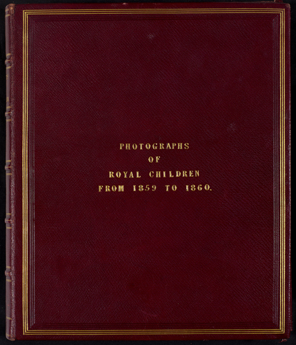 Portraits of Royal Children, Vol. 4, from 1859 to 1860