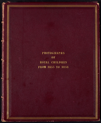 Portraits of Royal Children, Vol. 2, from 1855 to 1858