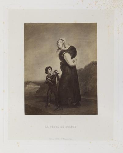 'La veuve du soldat'