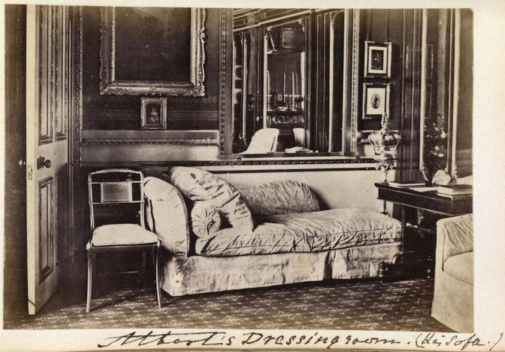 'Albert's Dressing room'; Prince Albert's (1819-61) Dressing room, Windsor Castle