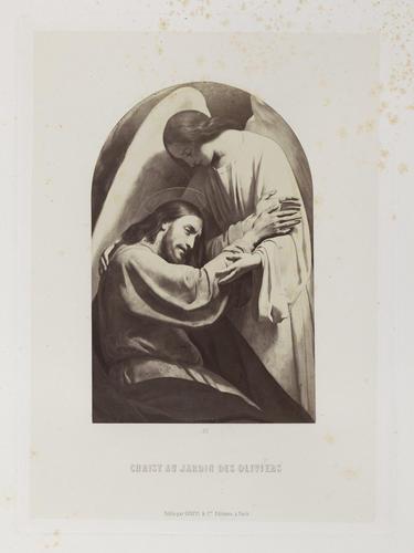 'Le Christ au jardin des Oliviers'