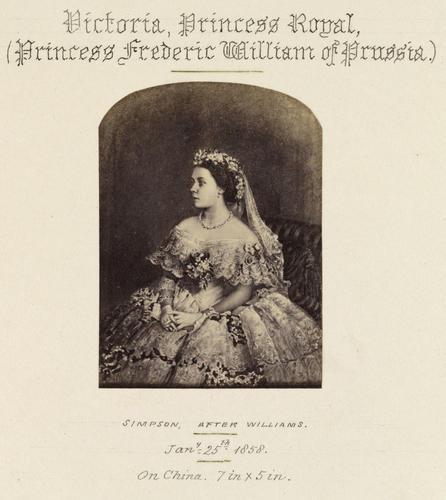 'Victoria, Princess Royal (Princess Frederic William of Prussia)'