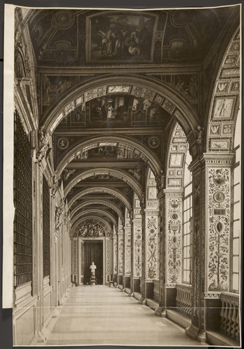 A view of the so-called 'Nuova Loggia Pia' in the Vatican