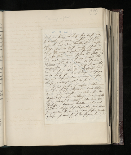 Incomplete letter from Ludwig Gruner to Charles Ruland concerning an engraving by Raphael discovered by Professor Andreas Muller in the Dusseldorf Academy,