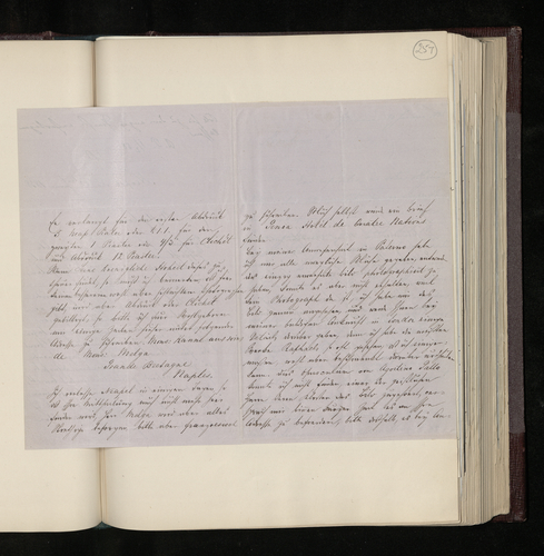 Letter from Joseph Kanne to Dr Ernst Becker from Naples asking whether the price asked for photographs of the works of Raphael there is acceptable, and reporting on his visit to Palermo