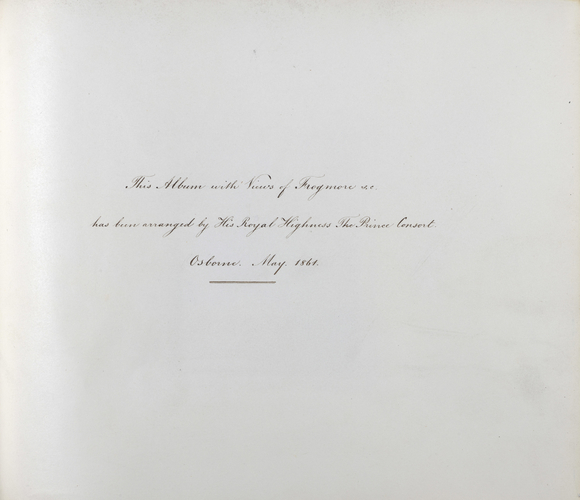 Photographs of Frogmore 1861