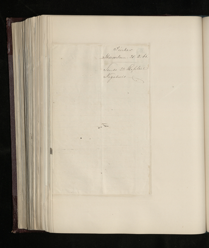 Letter from W. Tinker to Charles Ruland announcing that he has sent 22 glass negatives and prints