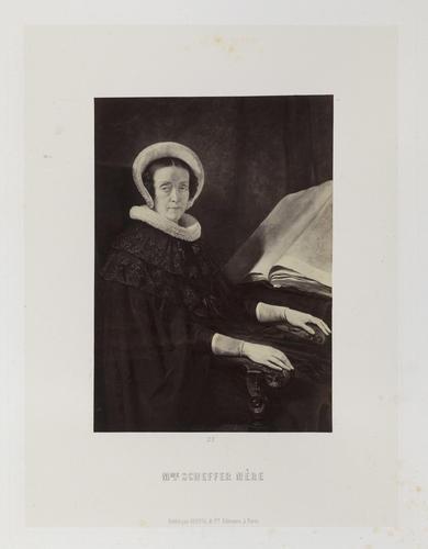 'Portrait de Mme Sheffer mere'