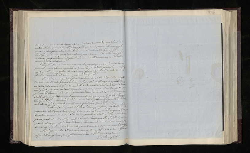 Letter from Gerolamo Brioschi to Dr. Ernst Becker justifying his charge for his photographs of Signor Fumagalli's painting by Raphael