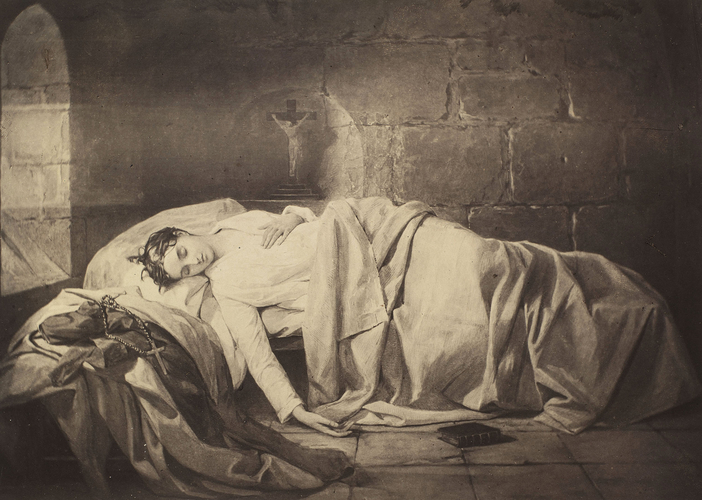 'The first night in a convent'