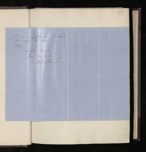 Letter from Robert Bingham to Dr. Ernst Becker agreeing to photograph the Raphael drawings in Lille and asking for a list of the drawings to be photographed in the Louvre