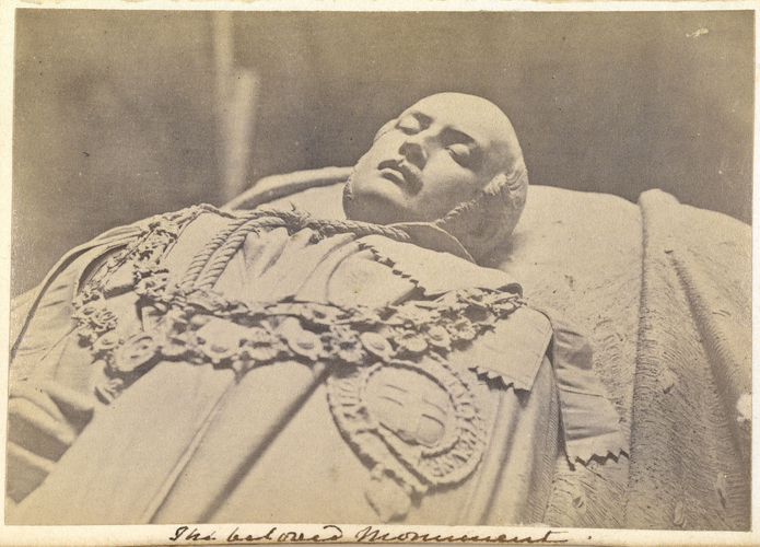 'The beloved monument'; Prince Albert (1819-61) effigy, Royal Mausoleum