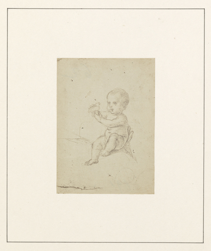 Child holding a bird