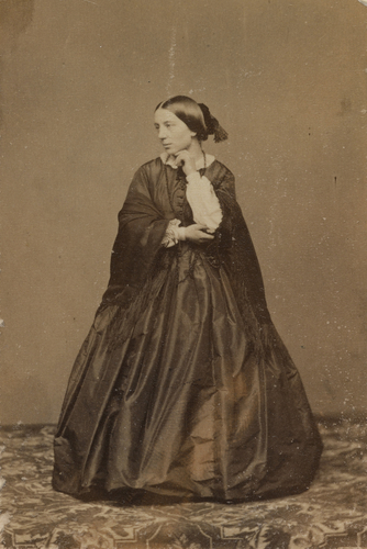 Fraulein Ottilie Bauer (c. 1834-1920)