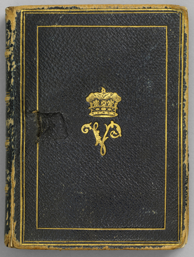 Photograph album featuring Victoria, Duchess of Kent and her family