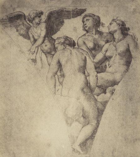 Cupid and the Three Graces