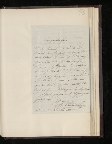Letter from Count Tascher de la Pagerie to Dr. Ernst Becker sending an extract from a letter from his friend in Madrid who arranged for the Duke of Alba's Raphael picture to be photographed for the P