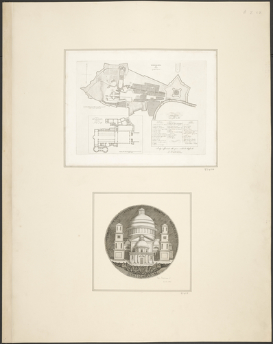 Plans of the Vatican City and St Peter's Basilica