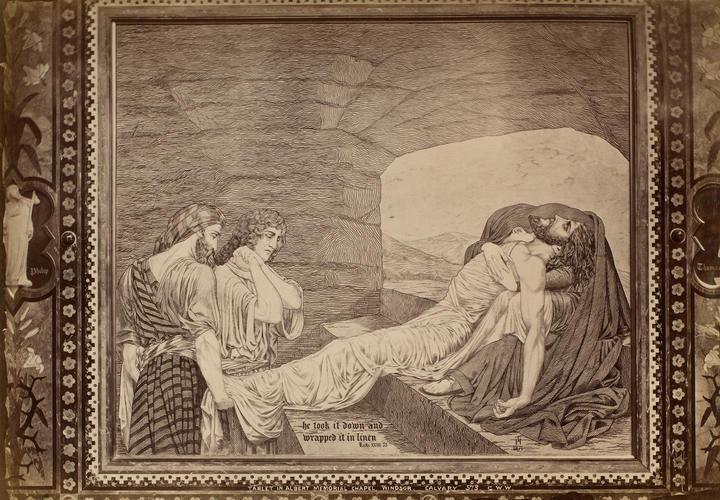'Calvary' tablet, The Albert Memorial Chapel, Windsor Castle