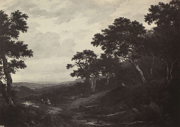 'Landscape'; A view near Woburn, Bedfordshire