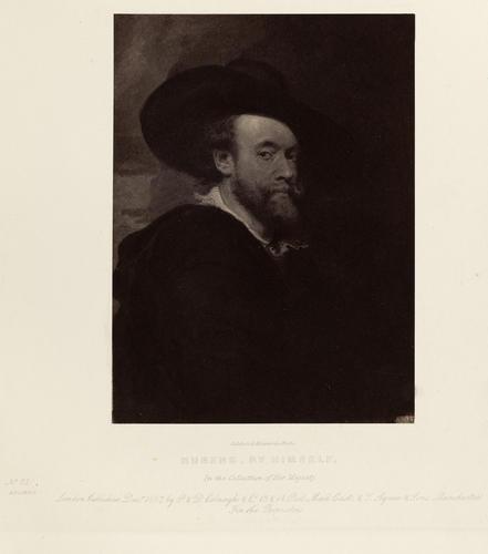 'Rubens, by himself'; A Self-Portrait