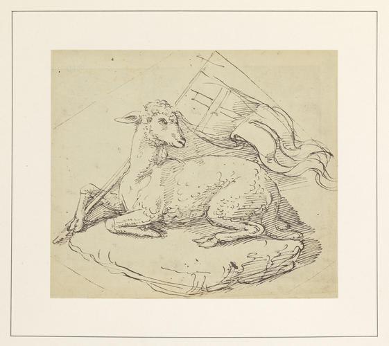 A paschal lamb