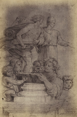 Drawings by Raphael in the Royal Collection at Windsor Castle