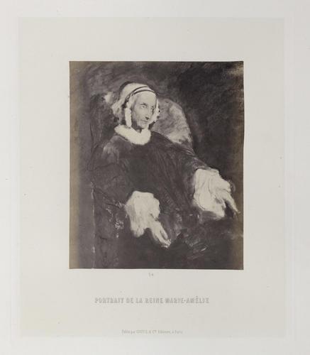 'Portrait de la reine Marie Amelie'