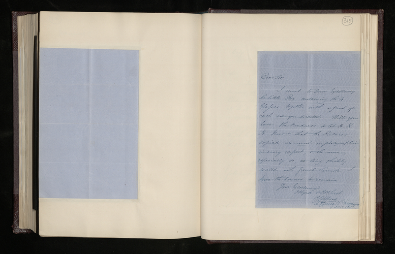 Letter from the photographer Charles Clifford to the British Minister in Madrid sending him the plates and prints [of the photographs of pictures by Raphael in Madrid] for the Prince Consort