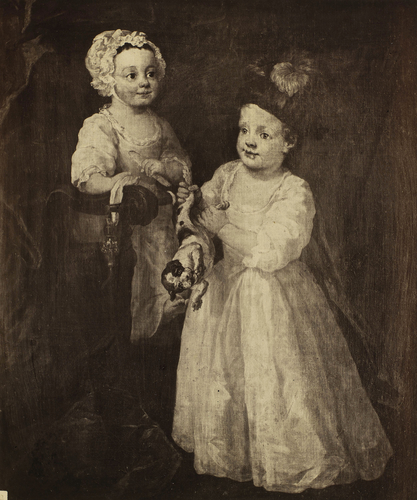 'Children of the Earl of Stamford'; Lord Grey and Lady Mary West as Children