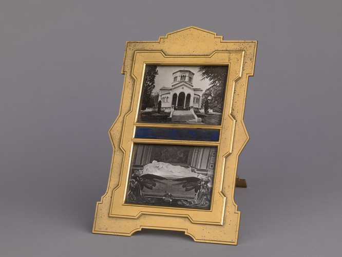 Photograph frame featuring photographs of the Frogmore Mausoleum