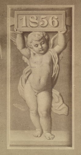 Fresco by Consoni, in the Promenade Gallery, Buckingham Palace