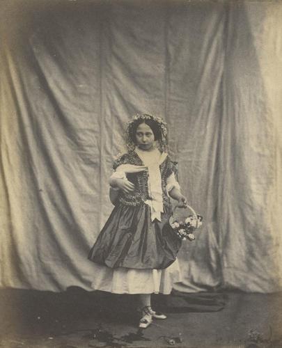 Princess Alice as 'Spring'