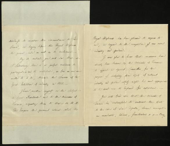 13 Apr 1850. Baron Brunnow to Colonel Grey