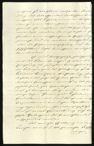 [Mar 1850] Copy of a letter from Baron Bulers to Chevalier Bunsen, Prussian Envoy
